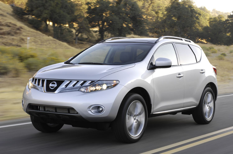 First photos with Nissan Murano
