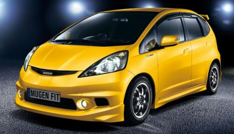 Top 5 Yellow Asian Cars