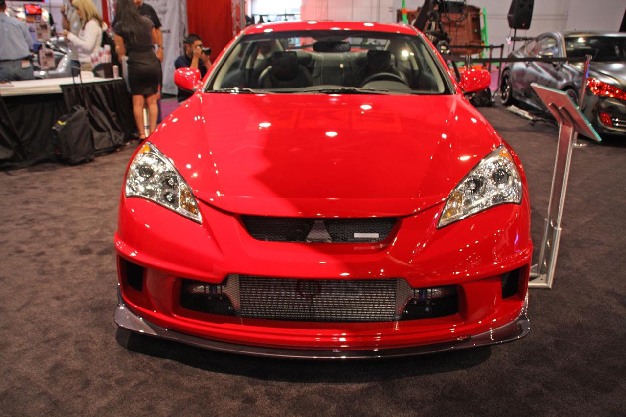 Hks Hyundai Genesis Coupe2 Asian Cars News