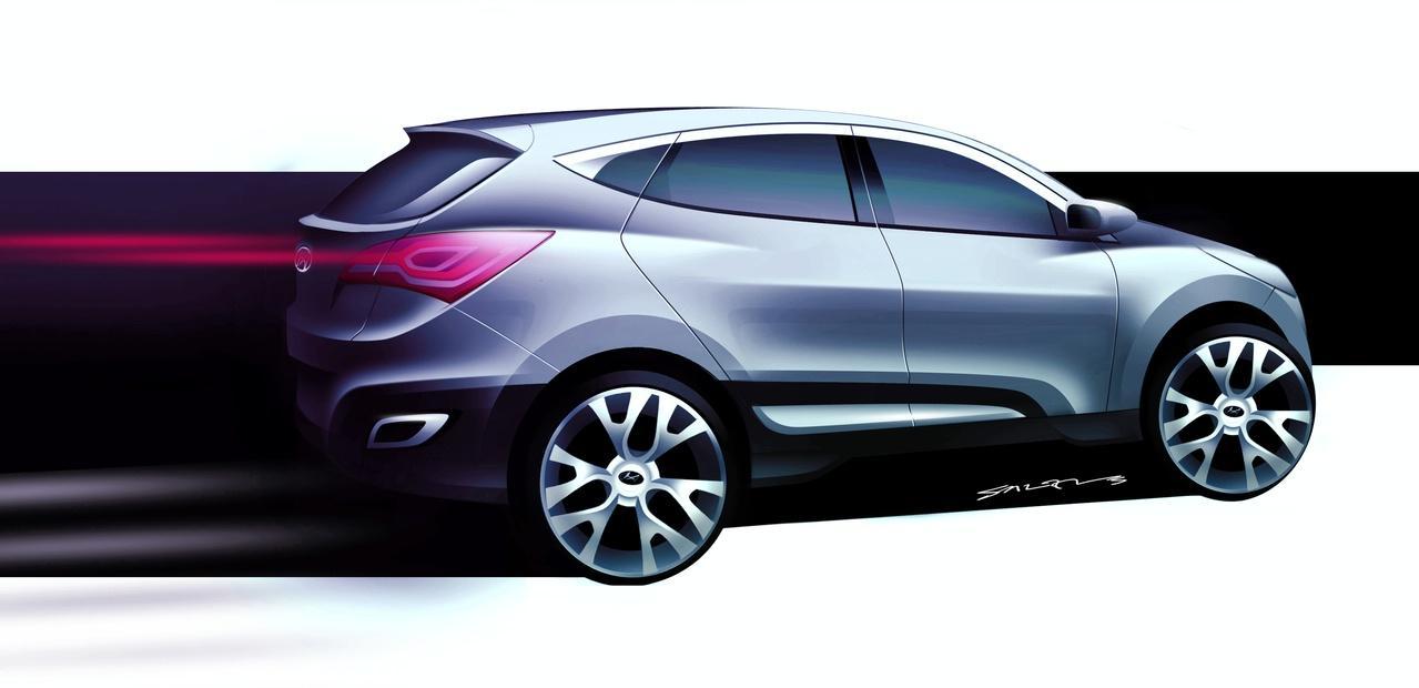 Hyundai HED-6 Concept at Geneva