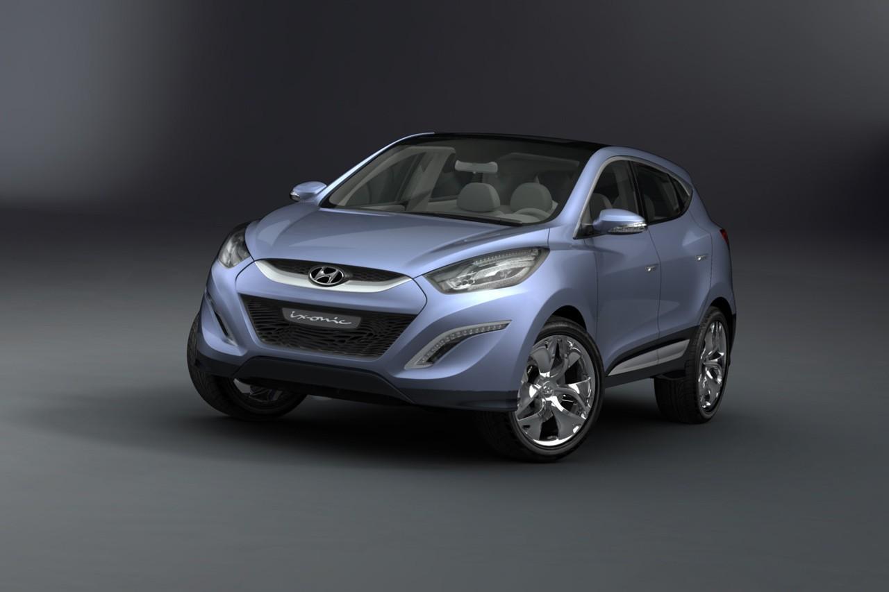 Hyundai HED-6 ix-ONIC Concept