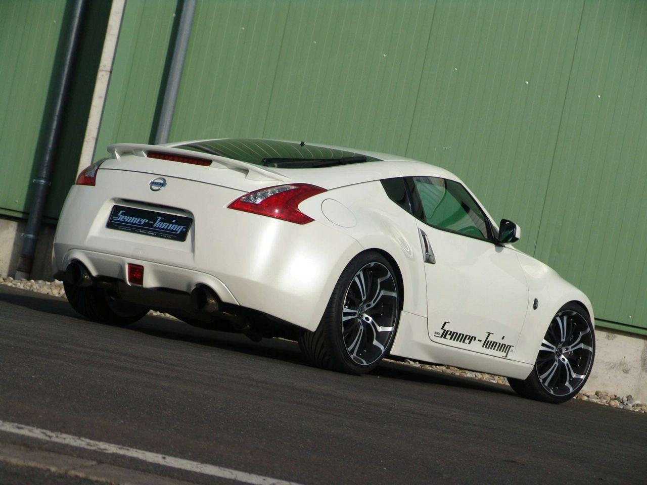 nissan 370z by senner tuning asian cars news. Black Bedroom Furniture Sets. Home Design Ideas