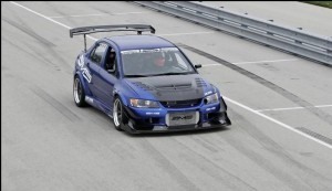 Lancer EVO IX Blue Demon by AMS