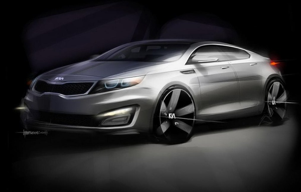 2010 Kia Magentis teaser photo