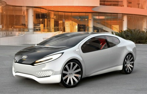 Kia Ray Concept Live in Chicago