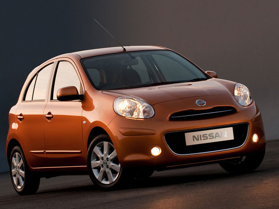 New Nissan Micra at 2010 Geneva Motor Show
