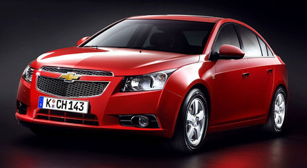 Chevrolet Cruze – for Asian taste