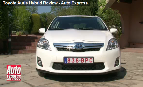 Video review for Toyota Auris Hybrid