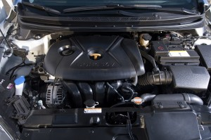 2012 Huyndai Elantra Coupe Engine