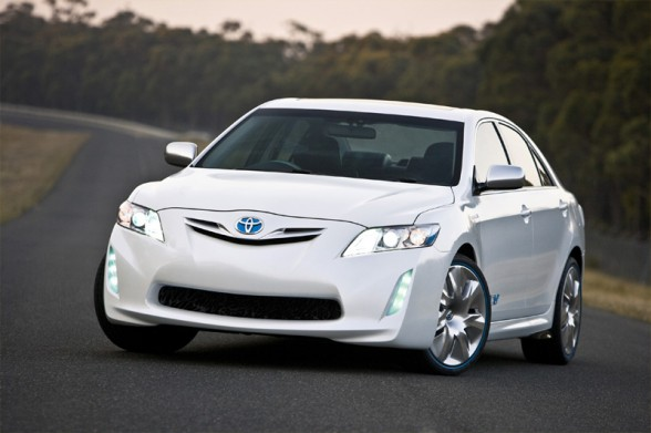 The latest Toyota concept: 2012 Toyota Camry