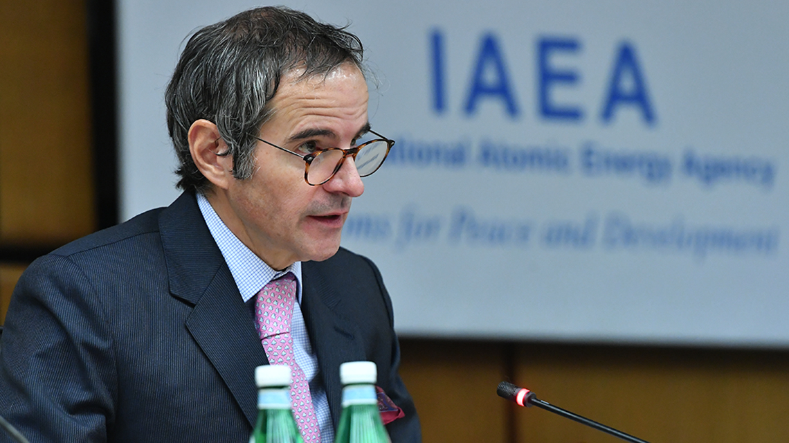 Iran, COVID-19 and Climate Change: IAEA Director General Briefs Board of Governors