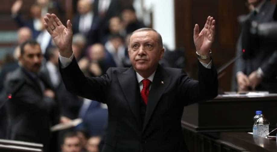"""Turkish President accuses former admirals of """"political coup"""""""