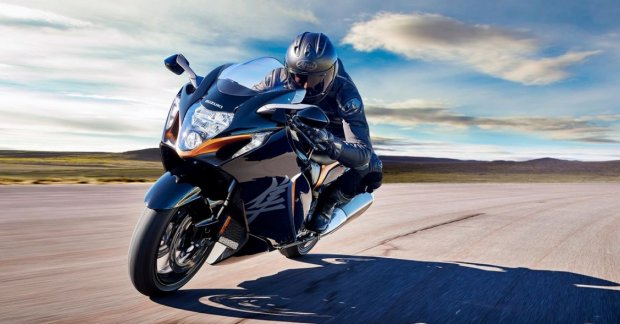 The new Suzuki Hayabusa will be listed on Brand's Indian website prior to launch