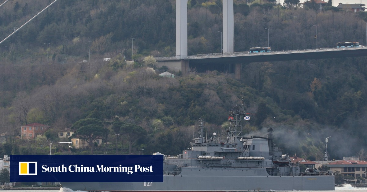 Russia sends more warships to the Black Sea as tensions in Ukraine ease