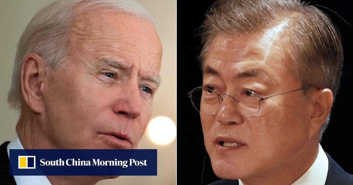 Joe Biden and South Korea's Moon Jae-in will meet at the White House in May