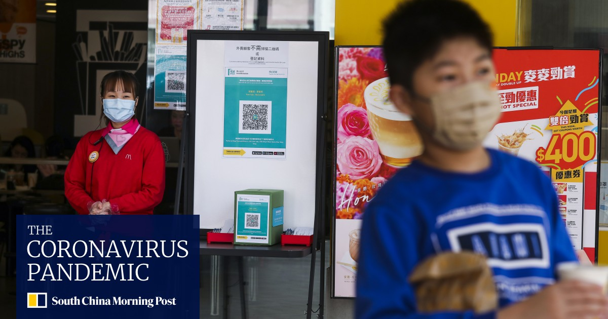 Coronavirus: Leave Home Safe contact tracking recorded 3.8 million downloads – that's more than half of Hong Kong's population