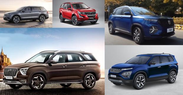 Top 5 Seven Seater SUVs in India – Hyundai, MG & More