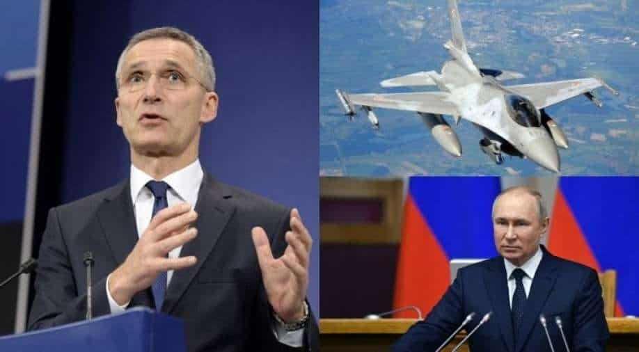 NATO conducts massive war games as tensions in Russia ease