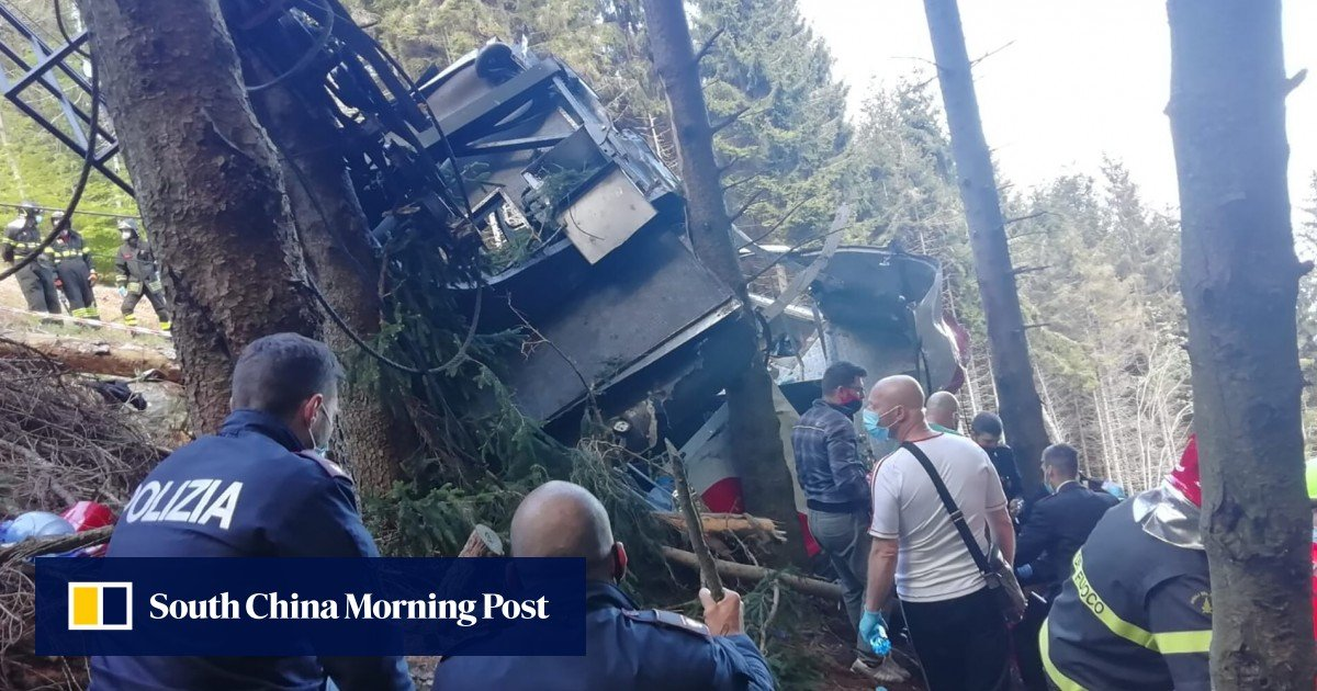 The emergency brake on the Italian cable car, which killed 14 people, was deactivated, according to the police
