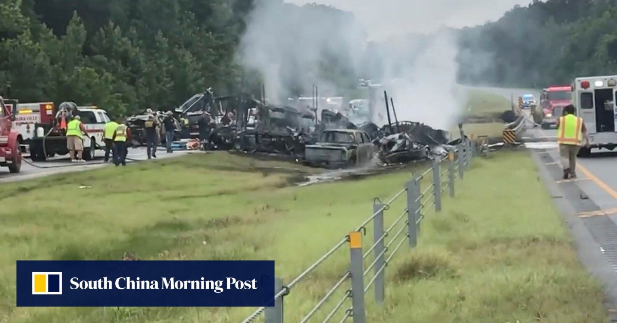 Horror car accident in the USA claims 9 children