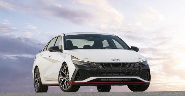 2022 Hyundai Elantra N for North America with WRC-inspired technology