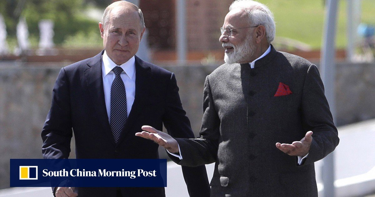 Russia is trying to promise India a partnership as Moscow and Beijing align positions on Afghanistan