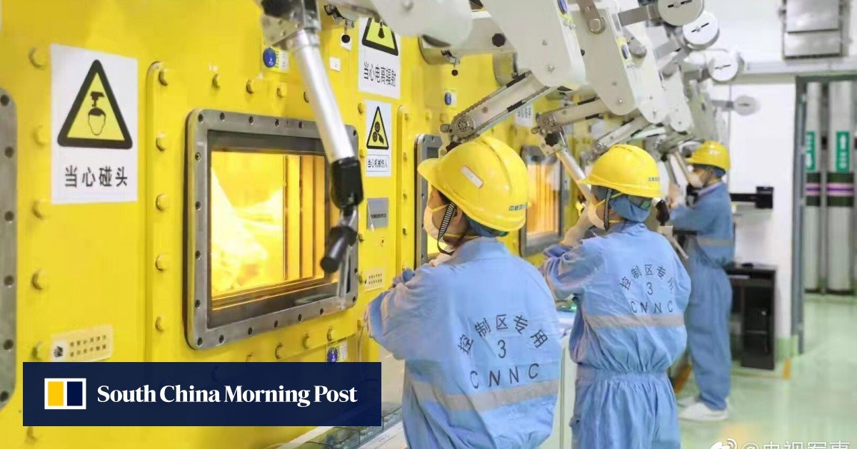 China opens first facility to convert nuclear waste into glass for safer storage