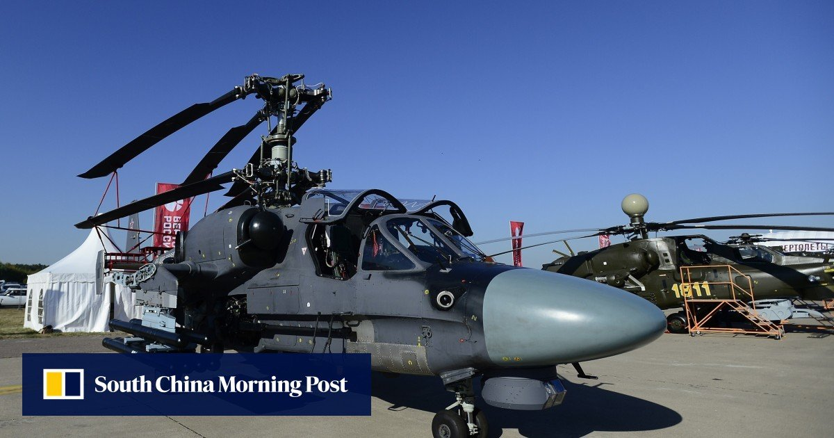 China's military: PLA in the Russian Ka-52K heavy attack helicopter market