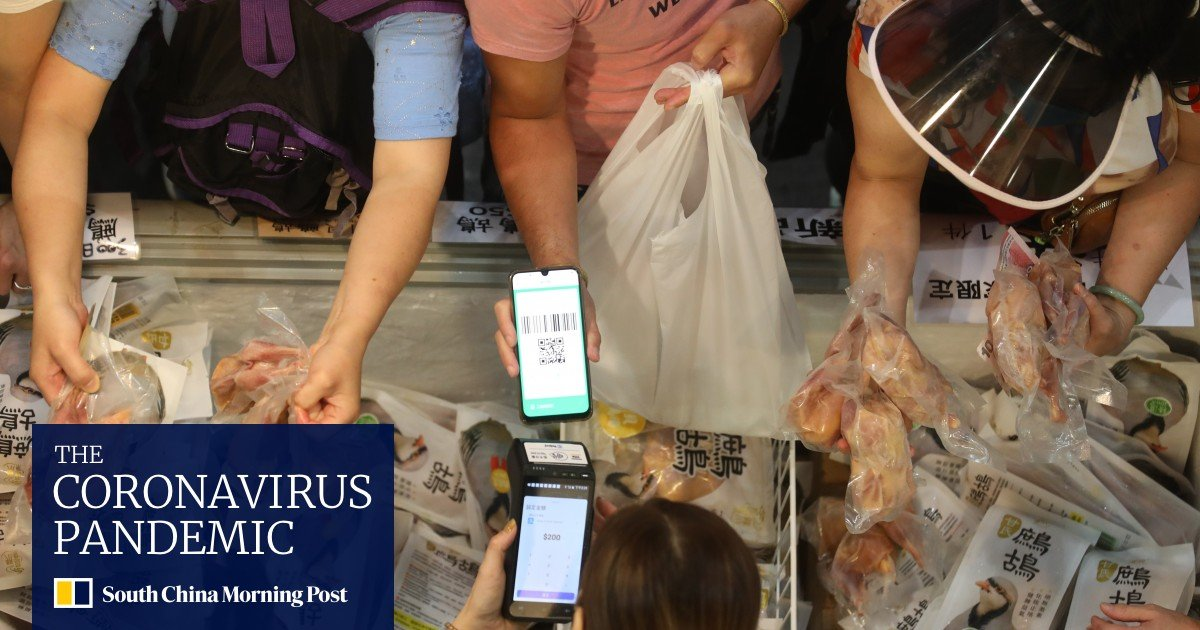 Hong Kong's e-voucher spending spree raises the bar for expectations of economic growth, the finance minister says