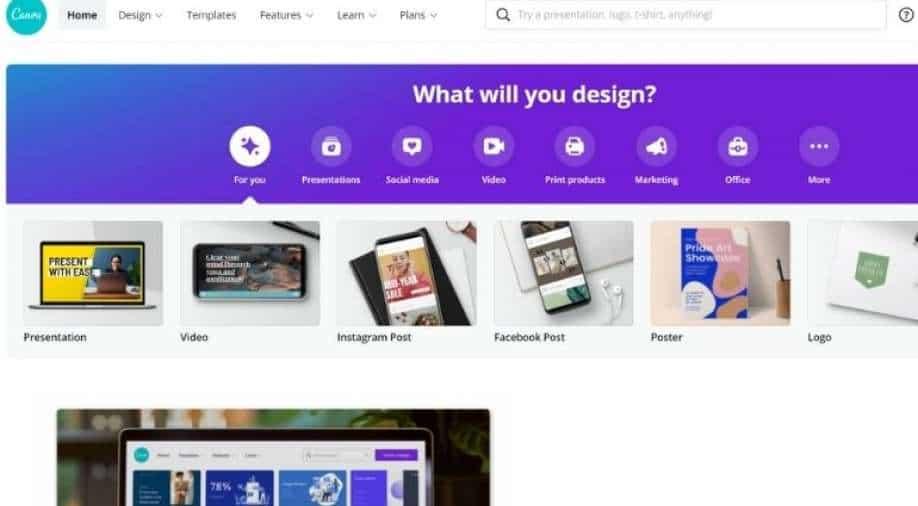 Australian design website Canva, valued at $ 40 billion