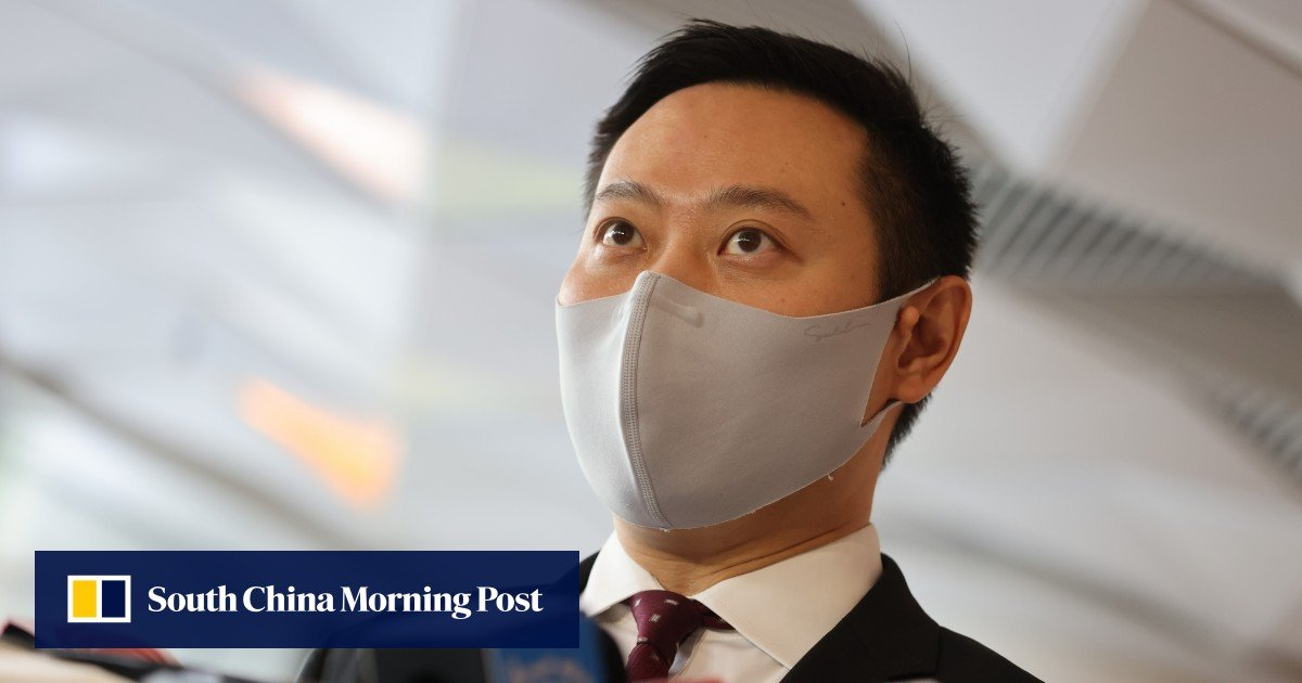 The role of Hong Kong district councils needs to be reviewed, said the interior ministry chief after removing members for invalid oaths