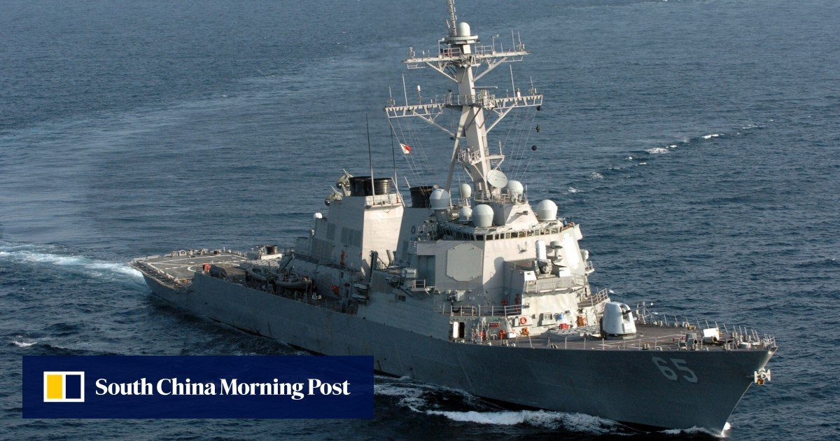 South China Sea: PLA protests as US warship sails near Mischief Reef