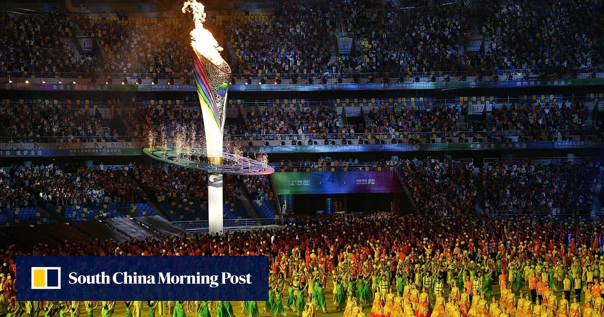 China's rejuvenation comes to the fore as President Xi Jinping opens the National Games
