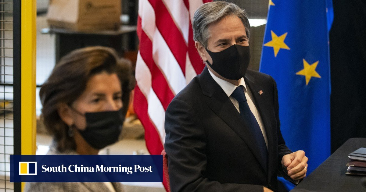 US and EU meet to forge trade and technology alliance to reduce reliance on China