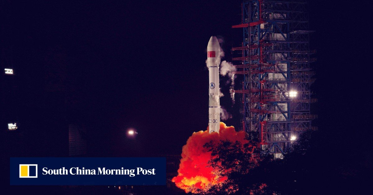 """The """"air breathing"""" technology that China is hoping can power a new generation of satellites"""