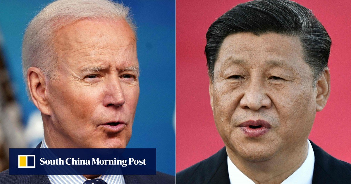 US-China relations: Biden and Xi talking on the phone on Friday