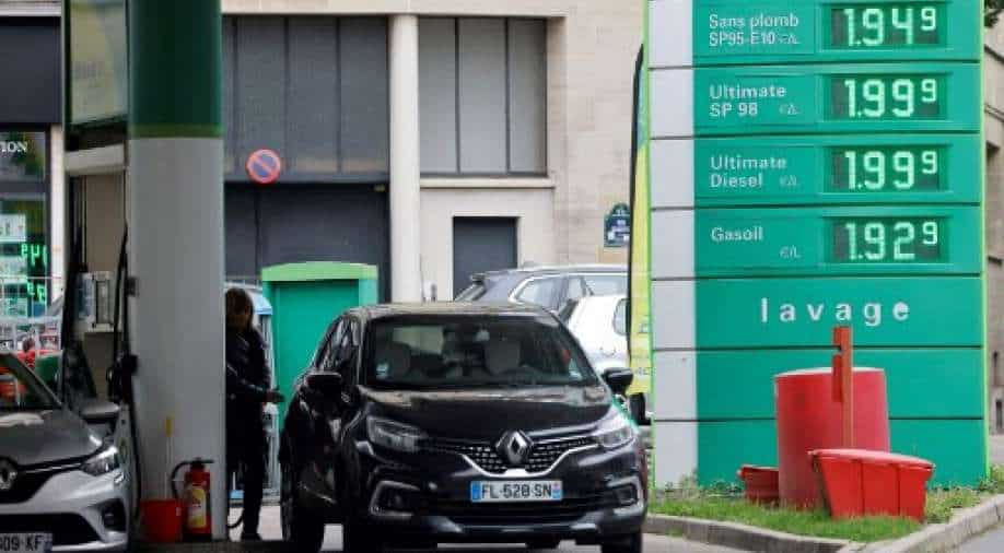"""France is offering?,? 100 """"inflation premiums"""" for low-income people to help offset dissatisfaction with rising fuel prices"""