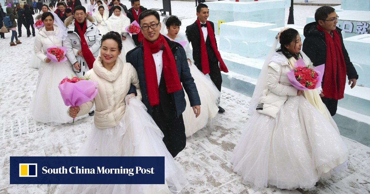 Do young Chinese people fall in love with marriage?