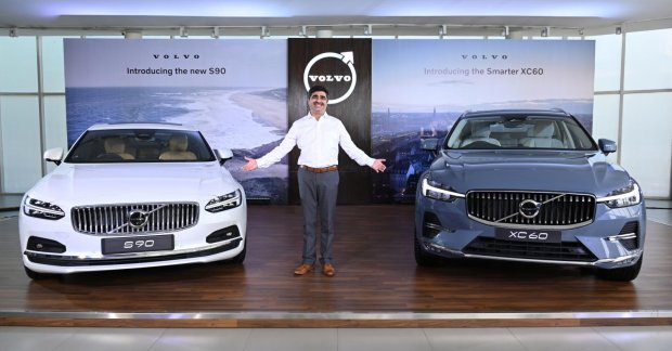 Introduction of a petrol mild hybrid variant of the Volvo S90 & XC60