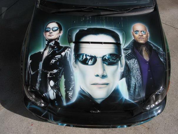 The Matrix Subaru