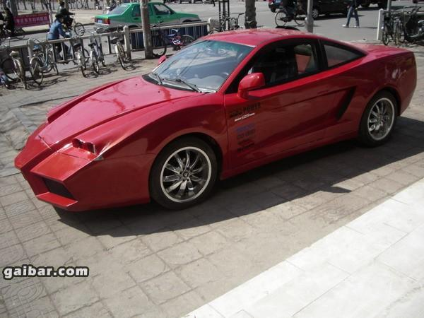Geely Beauty Leopard tuned by Chinese