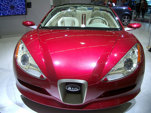 The new Kia Roadster competes with Mazda