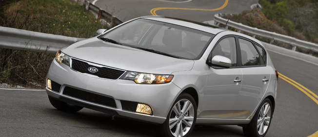 Kia is stronger than Mazda with its Forte Hatchback