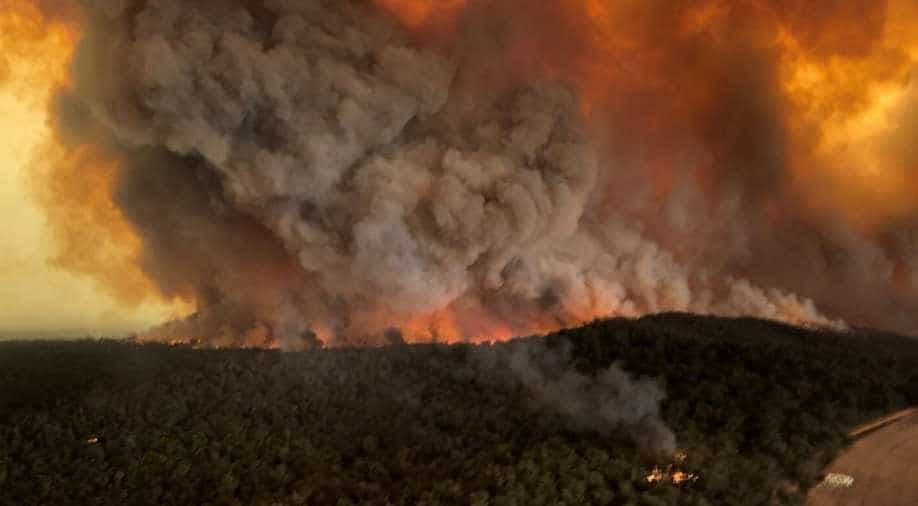 Australian bushfires drew as much smoke into the stratosphere as a large volcano