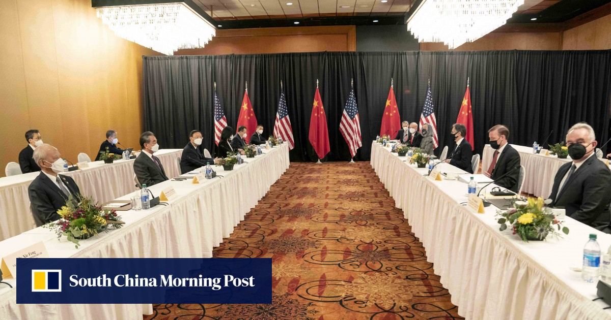 Alaska Summit: U.S. and Chinese officials clash, but who's at the table?