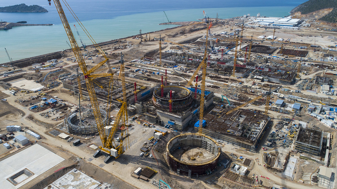 The United Arab Emirates and Belarus introduced nuclear energy last year.  Who's next?