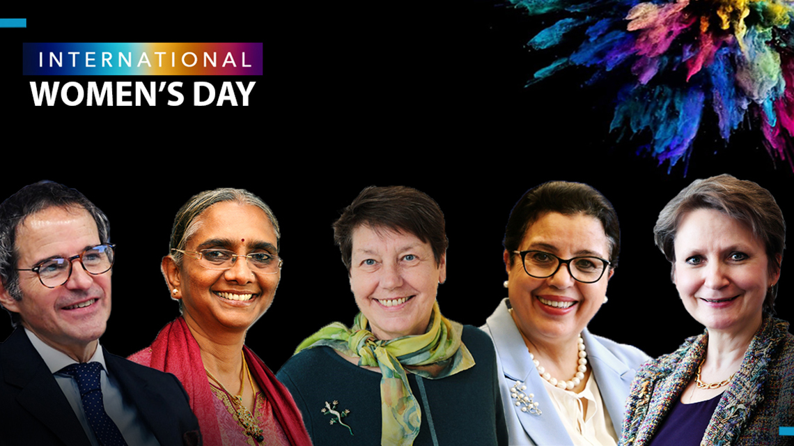 IAEA women guides share their travels on International Women's Day 2021: Panel Discussion