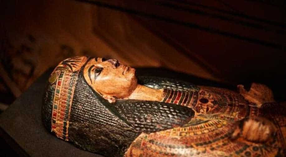 Egypt shows off the mummified remains of 22 ancient kings and queens