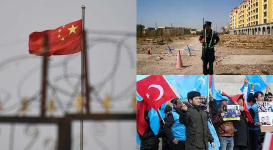 According to China, think tank reports on the drop in fertility rates in Uyghurs are falling.