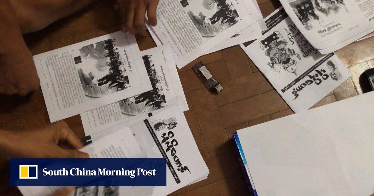Protesters in Myanmar defy junta internet restrictions with underground newsletters as the death toll exceeds 700